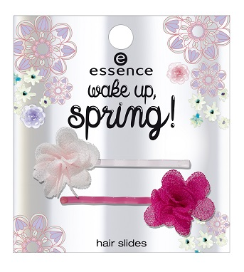 ess. wake up, spring! hair slides