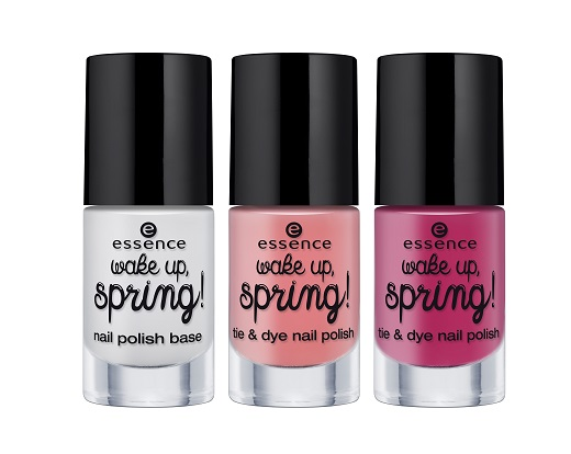 ess. wake up, spring! tie & dye nail polish set