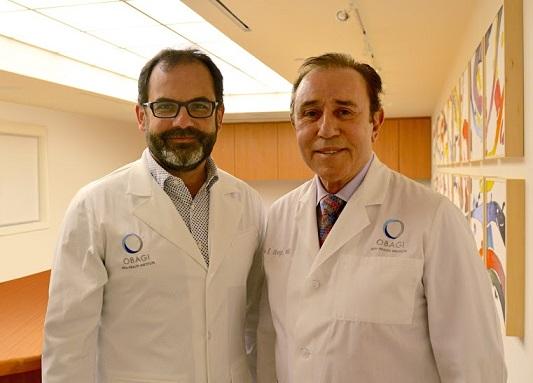 El Dr. Josep González  y el Dr. Zein Obagi
