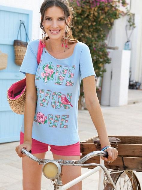 Camiseta estampada de Venca (www.venca.es) 7,99€