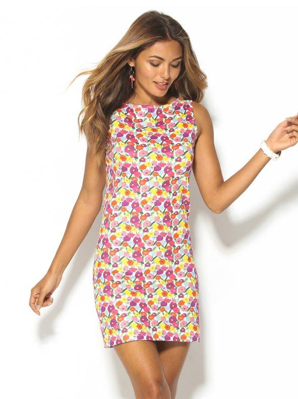 Vestido de algodón elástico de Venca 12,99€