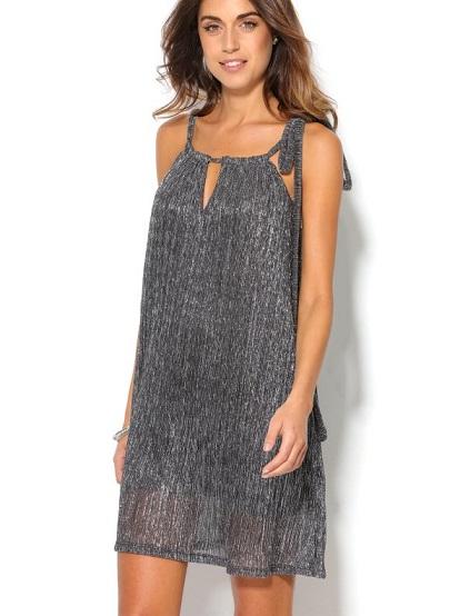 vestido-corto-plateado-de-fiesta-mujer-con-escote-cortina-plateado