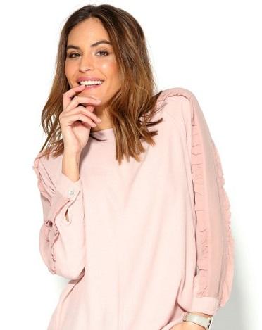 Blusa semitransparente de Venca, 25,99€ (www.venca.es)