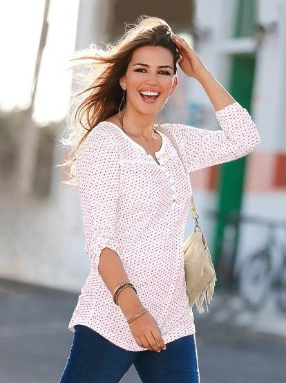 Camiseta con detalles de encaje de Venca, 12,99€ (www.venca.es)